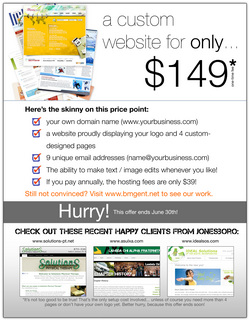 Custom Web Design PROMO