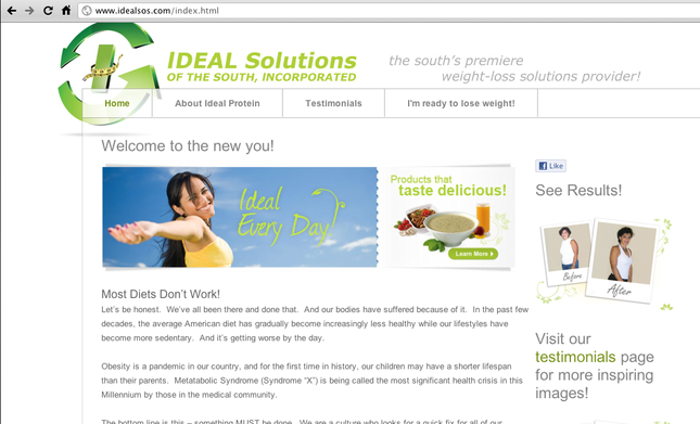 Ideal Solutions of the South - www.idealsos.com